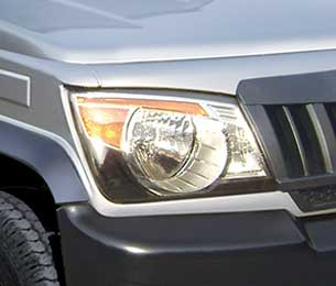 Hawk-eye headlamps