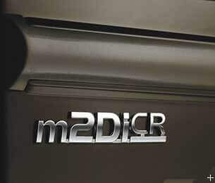 New, refined and peppy m2DiCR engine